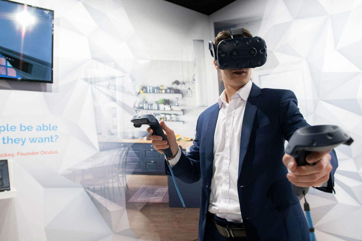 Virtual en Augmented Reality breken door in vloersector